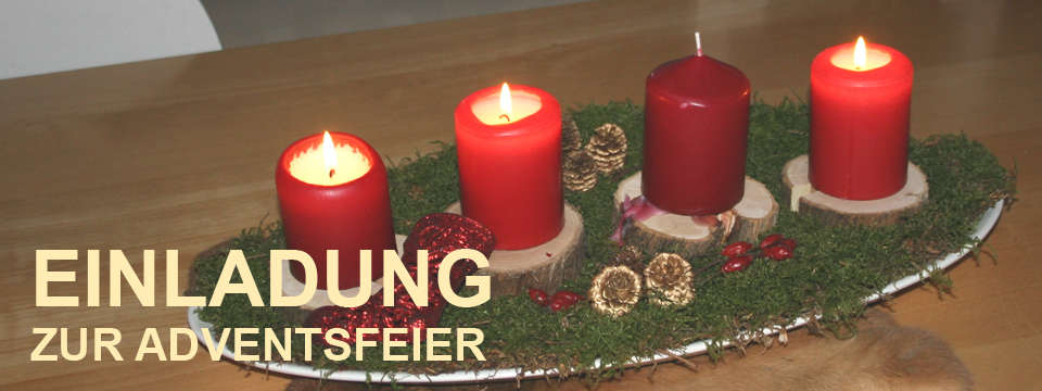 Einladung zur Adventsfeier in Derching