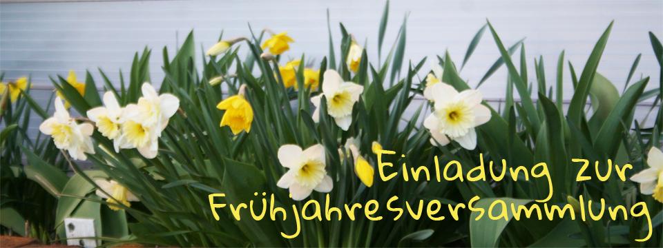 Frühjahresversammlung in Derching