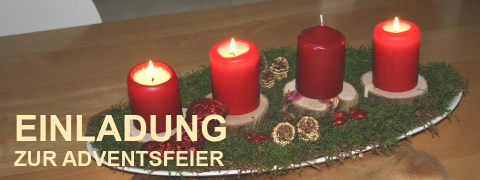 Einladung zur Adventsfeier in Derching