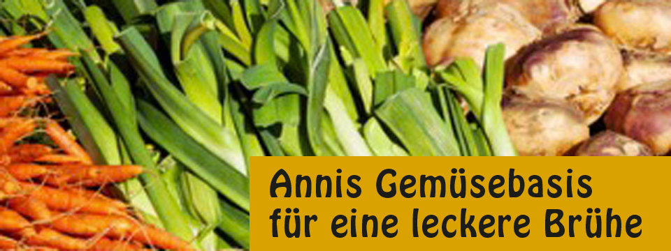 Annis leckere Gemüsebrühe